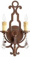 Quorum 519-2-39 Montgomery Vintage Copper Wall Light Sconce