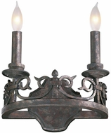 Quorum 5293-2-50 Lorenco Traditional Spanish Silver Lighting Sconce