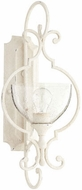 Quorum 5414-1-70 Ansley Traditional Persian White Wall Mounted Lamp