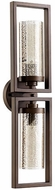 Quorum 553-2-86 Julian Contemporary Oiled Bronze Wall Sconce Lighting