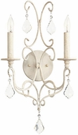 Quorum 5605-2-70 Ariel Traditional Persian White Wall Sconce Light