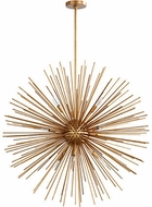 Quorum 600-10-74 Electra Modern Gold Leaf 35  Pendant Light Fixture
