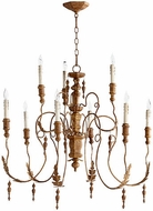 Quorum 6006-9-94 Salento French Umber Chandelier Light