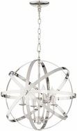 Quorum 6009-4-62 Celeste Modern Polished Nickel 19  Pendant Hanging Light