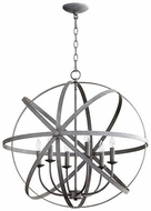 Quorum 6009-6-17 Celeste Contemporary Zinc 25.5  Lighting Pendant