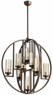 Quorum 603-10-86 Julian Contemporary Oiled Bronze 32  Pendant Lighting Fixture