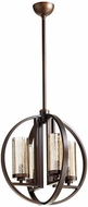 Quorum 603-4-86 Julian Contemporary Oiled Bronze 19  Hanging Pendant Light
