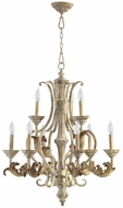 Quorum 6037-9-70 Florence Traditional Persian White Lighting Chandelier