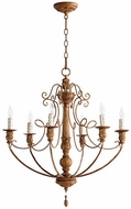 Quorum 6106-6-94 Salento French Umber Chandelier Light