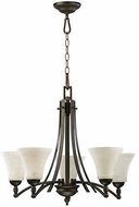 Quorum 6177-5-86 Aspen Oiled Bronze Ceiling Chandelier