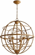 Quorum 6216-6-94 Salento French Umber Pendant Lighting