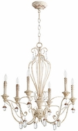 Quorum 6244-6-70 Venice Traditional Persian White Lighting Chandelier