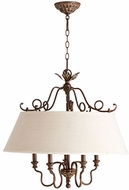 Quorum 6306-5-39 Salento Vintage Copper Drum Pendant Light