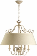 Quorum 6306-5-70 Salento Persian White Drum Lighting Pendant