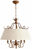 Quorum 6306-5-94 Salento French Umber Drum Pendant Lamp