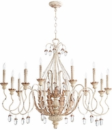 Quorum 6344-12-70 Venice Traditional Persian White Ceiling Chandelier