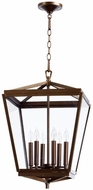 Quorum 6604-6-86 Kaufmann Oiled Bronze Foyer Light Fixture