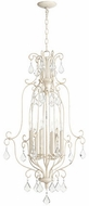 Quorum 6705-6-70 Ariel Traditional Persian White Entryway Light Fixture