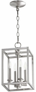 Quorum 6731-4-165 Cuboid Satin Nickel 8  Foyer Lighting