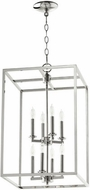Quorum 6731-8-62 Cuboid Polished Nickel 14  Foyer Light Fixture