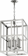 Quorum 6732-6-62 Cuboid Polished Nickel 15  Entryway Light Fixture