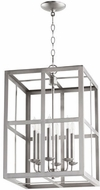 Quorum 6732-6-65 Cuboid Satin Nickel 15  Foyer Lighting