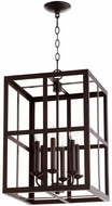 Quorum 6732-6-86 Cuboid Oiled Bronze 15  Foyer Lighting Fixture