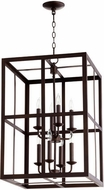 Quorum 6732-8-86 Cuboid Oiled Bronze 18  Entryway Light Fixture