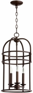 Quorum 6733-3-86 Toque Oiled Bronze 12.25  Foyer Lighting