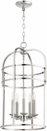 Quorum 6733-5-62 Toque Polished Nickel 14  Foyer Lighting Fixture