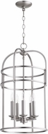 Quorum 6733-5-65 Toque Satin Nickel 14  Entryway Light Fixture