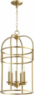 Quorum 6733-5-80 Toque Aged Brass 14  Foyer Lighting