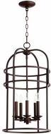 Quorum 6733-5-86 Toque Oiled Bronze 14  Foyer Light Fixture