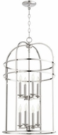 Quorum 6733-8-62 Toque Polished Nickel 18.25  Entryway Light Fixture