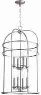 Quorum 6733-8-65 Toque Satin Nickel 18.25  Foyer Lighting