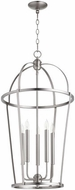 Quorum 6734-5-65 Mitre Satin Nickel 18  Entryway Light Fixture