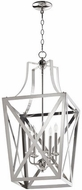 Quorum 6736-5-62 Iso Trap Polished Nickel 15  Foyer Lighting