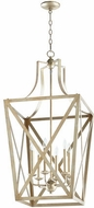 Quorum 6736-6-60 Iso Trap Aged Silver Leaf 18  Foyer Lighting