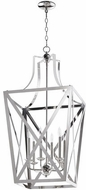 Quorum 6736-6-62 Iso Trap Polished Nickel 18  Foyer Light Fixture