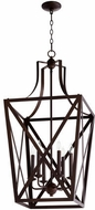 Quorum 6736-6-86 Iso Trap Oiled Bronze 18  Foyer Lighting
