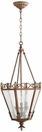 Quorum 6806-3-39 Salento Vintage Copper Foyer Light Fixture