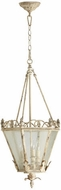 Quorum 6806-3-70 Salento Persian White Foyer Lighting Fixture