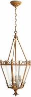 Quorum 6806-3-94 Salento French Umber Entryway Light Fixture