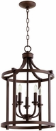 Quorum 6807-5-86 Lancaster Oiled Bronze 15.5  Foyer Lighting