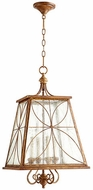 Quorum 6816-4-94 Salento French Umber Foyer Lighting Fixture
