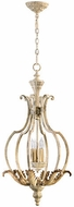 Quorum 6837-4-70 Florence Traditional Persian White Foyer Lighting
