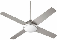 Quorum 68524-65 Quest Satin Nickel w/ Satin Nickel Blades LED 52  Home Ceiling Fan