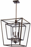 Quorum 6904-9-86 Kaufmann Oiled Bronze Entryway Light Fixture