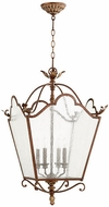 Quorum 6906-4-39 Salento Vintage Copper Foyer Lighting Fixture