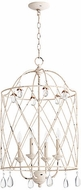 Quorum 6944-4-70 Venice Traditional Persian White 17  Foyer Lighting